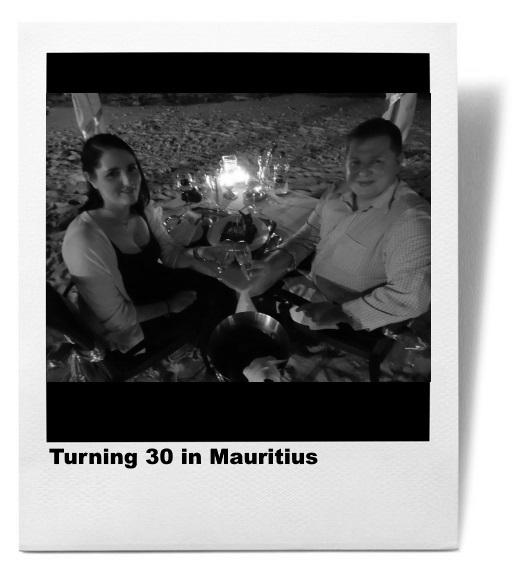 Turning 30 in Mauritius