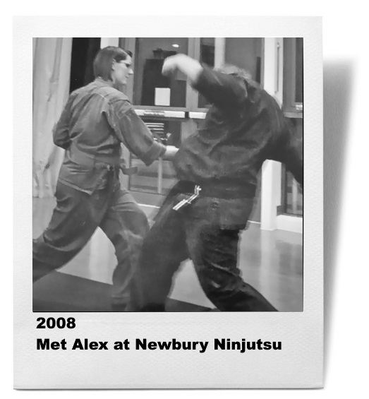 Meeting Alex at Newbury Ninjutsu