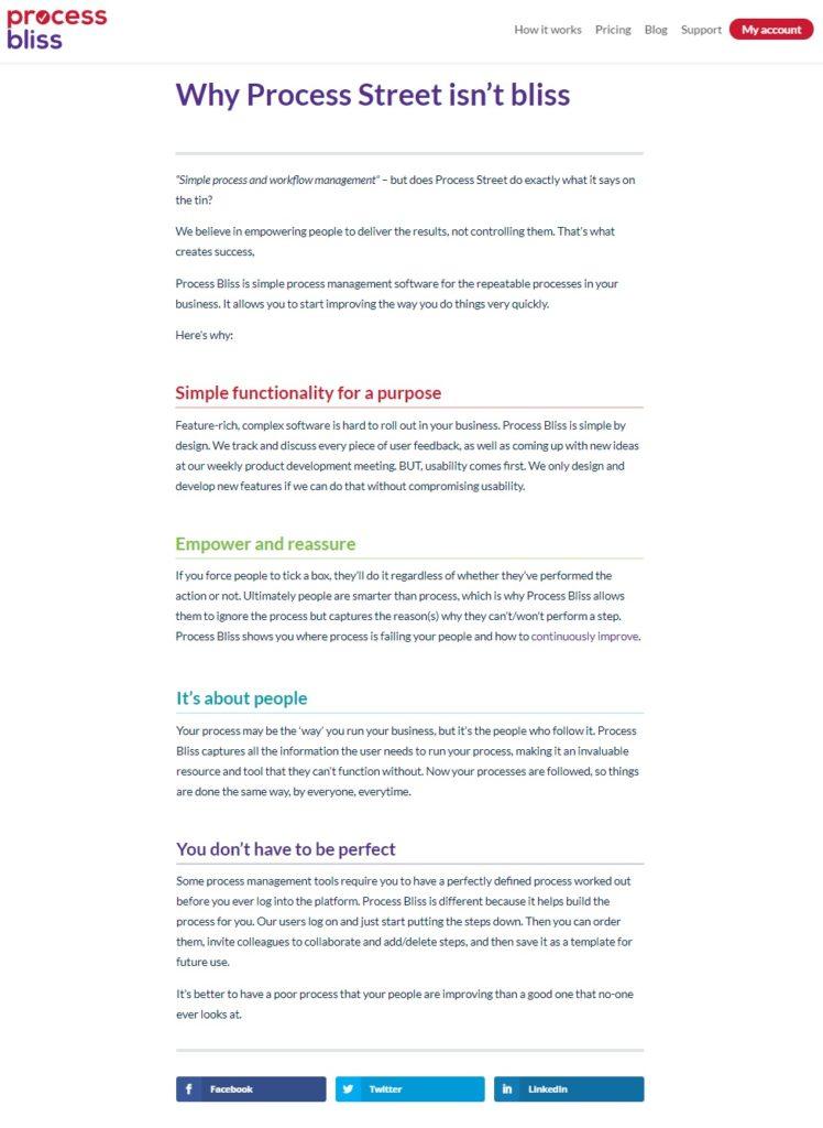 Case study: Process Bliss - PPC 2
